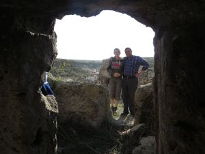 Our cave guide at Mazi