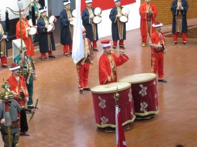 We watched an Ottoman Janissary Band at the military museum