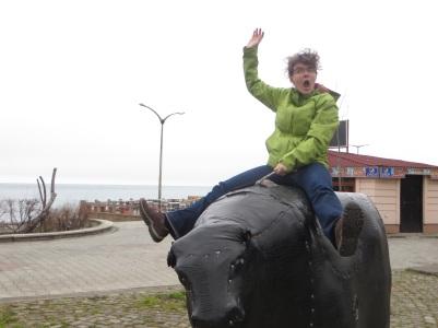 Ride em, Kasha!
