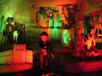 An odd diorama in the cellar of the toy museum, Gaziantep