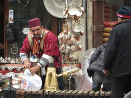 Mobile Coffe vendor, Gaziantep