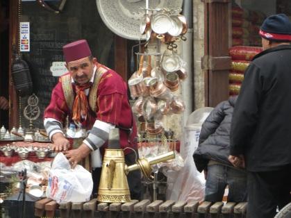 Mobile Coffe vendor, Gaziantep