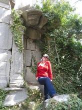 Vamping at the ruins