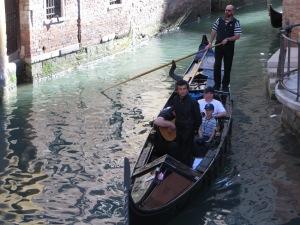 Singing boat ride