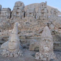 sunrise on nemrut