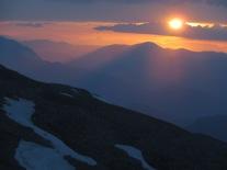 sunset on Nemrut